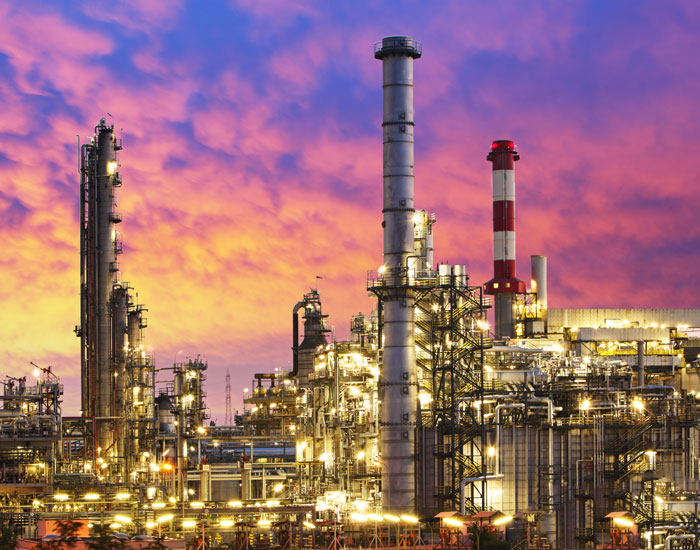Oil Industry – refinery factory